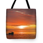 Taveuni Sunset Tote Bag