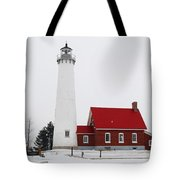 Tawas Point Lighthouse 2 Tote Bag