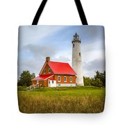 Tawas Point Lighthouse - Lower Peninsula, Mi  Tote Bag