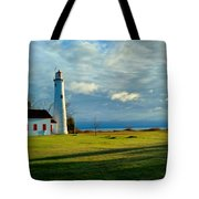 Sturgeon Point Lighthouse Tote Bag