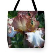 Tawny Iris Photograph Tote Bag
