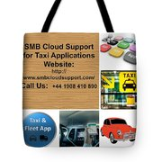 Taxi Booking Application Tote Bag