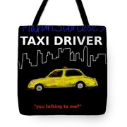 Taxi Driver Movie Poster Tote Bag