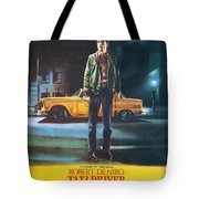 Taxi Driver - Robert De Niro Tote Bag by Georgia Fowler