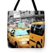 Taxiderby Tote Bag