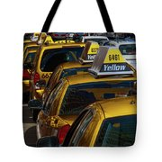 Taxis Wait Tote Bag