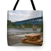 Taylor Peace River Bridge Tote Bag