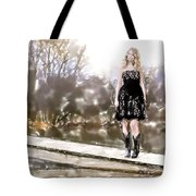 Taylor Swift Watercolor Tote Bag