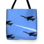 T'birds In Diamond Formation Tote Bag
