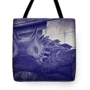 Tcu Horned Frog Purple Tote Bag