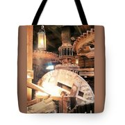 The Heart Of A Windmill The Nederlands Tote Bag