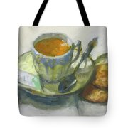 Tea And Biscuits Tote Bag