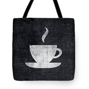Tea And Coffee- Art By Linda Woods Tote Bag