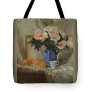 Tea And Roses Tote Bag