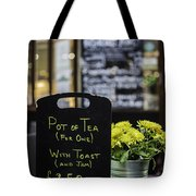 Tea And Toast For One Tote Bag