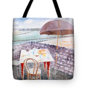 Tea At Furlongs Tote Bag
