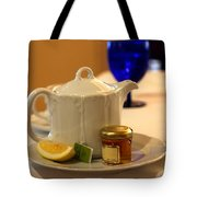 Tea At The Ritz Tote Bag
