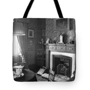 Tea By The Fire Tote Bag