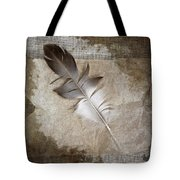 Tea Feather Tote Bag