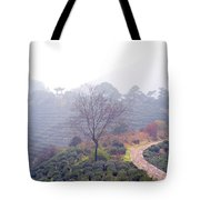 Tea Field Tote Bag