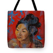 Tea Girl Tote Bag