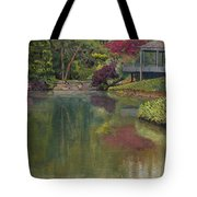 Tea House Tote Bag