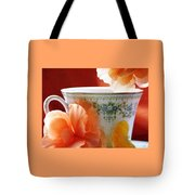 Tea In The Garden Tote Bag