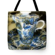 Tea Is Served Tote Bag