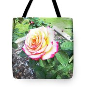 Tea Rose For A Lady Tote Bag