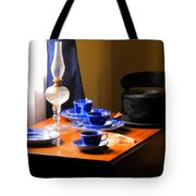 Tea Time Composition Tote Bag
