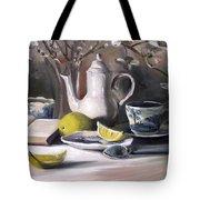 Tea With Lemon Tote Bag