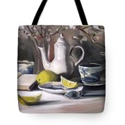 Tea With Lemon Tote Bag