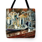Tea With Marguerite Tote Bag