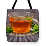 Tea With Mint Tote Bag