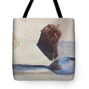 Teabag And Spoon Tote Bag