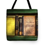 Teacher - Books You Use In School  Tote Bag by Mike Savad