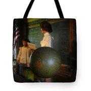 Teaching Globe Tote Bag