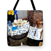 Teagun Rose Teaparty 5 Tote Bag