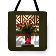 Teak And Roses Tote Bag
