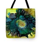 Teal Bloom Tote Bag