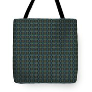 Teal Diamond Crackle From Sunset Strip Tote Bag
