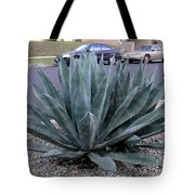 Teal-green Tequila Plant. Exotic Tote Bag