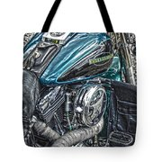 Teal Wonder Tote Bag
