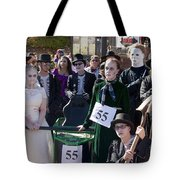 Team 55 At Emma Crawford Coffin Races In Manitou Springs Colorado Tote Bag