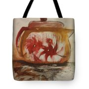 Teapot Tote Bag by Gregory Dallum