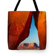 Teardrop Arch Tote Bag