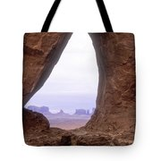 Teardrop Arch-monument Valley Tote Bag