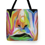 Tearful Clown Tote Bag