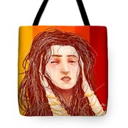 Tears And Fake Gold Tote Bag