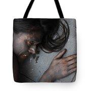 Tears For Bulls Tote Bag